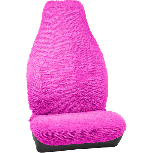 Bell Seat Cover, Shaggy/UB/Pink