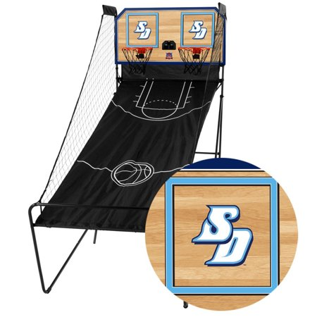 San Diego Toreros Classic Court Double Shootout Basketball Game - No Size](San Antonio Spurs Basketball)