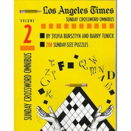 Los Angeles Times Sunday Crosswords Omnibus