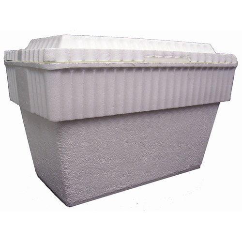 Lifoam 50 Qt. Chuckwagon Styrofoam Picnic Cooler (Set of 12)