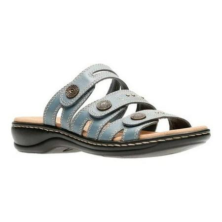 0fef54cbcae9 clarks - women s clarks leisa lakia slide sandal - Walmart.com