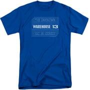 Warehouse 13 Blueprint Logo Mens Big and Tall Shirt