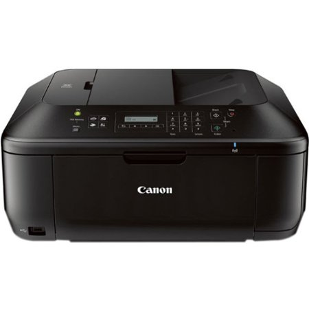 Reversible Top Fax - 8750B002 Canon PIXMA MX532 Inkjet Multifunction Printer - Color - Photo Print - Desktop - Copier/Fax/Printer/Scanner - 9.7 ipm Mono/5.5 ipm Color Print (ISO) - 46 Second Photo - 4800 x 1200 dpi Print