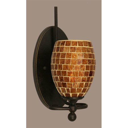 5 in. Mosaic Glass Wall Sconce - Walmart.com