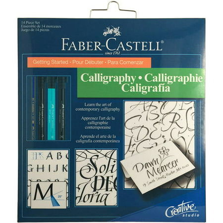 Faber-Castell PITT Getting Started Calligraphy Set](getting started in electronics)