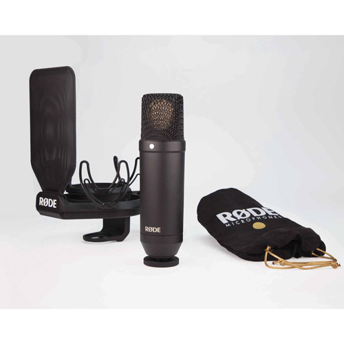 Rode NT1 Kit Cardioid Condenser Microphone by Rode