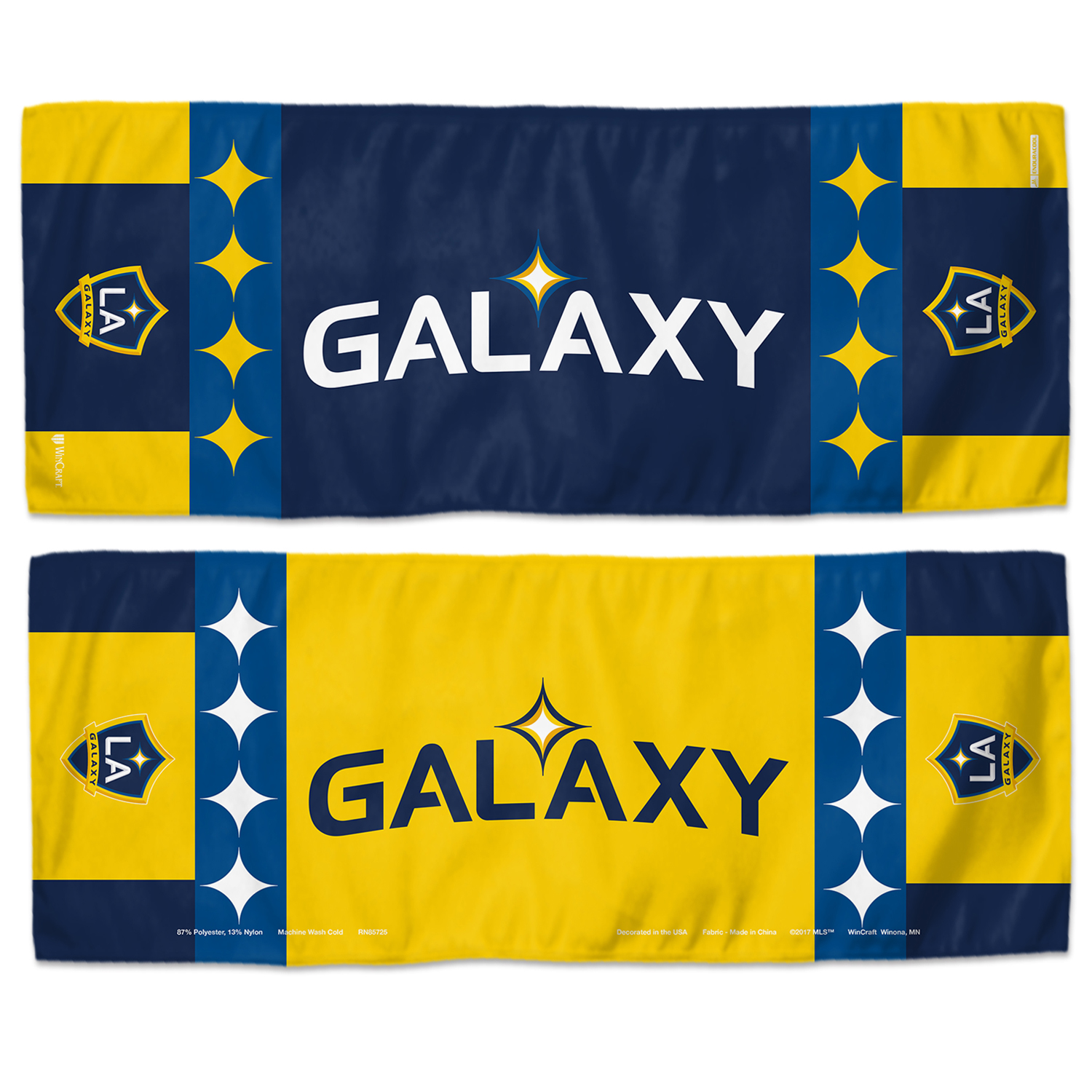 "LA Galaxy WinCraft 12"" x 30"" Double-Sided Cooling Towel - No Size"