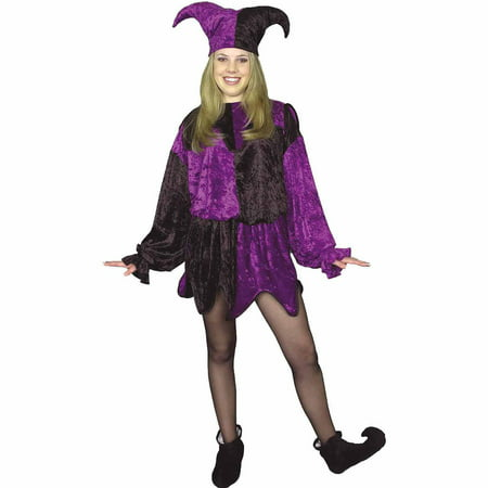 Jester Adult Plus Halloween Costume - Jester Costume