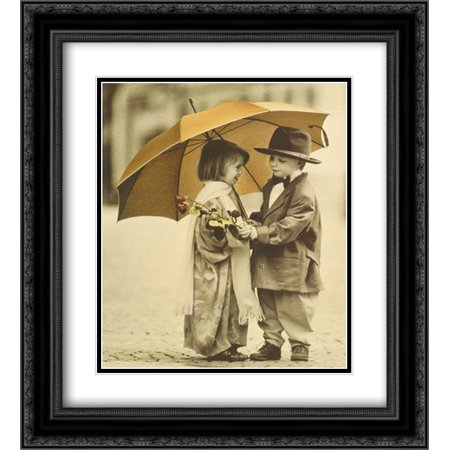 You Shouldn't Have 2x Matted 20x24 Black Ornate Framed Art Print by Kim