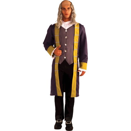 Ben Franklin Adult Halloween Costume - Halloween Costumes Franklin Tennessee