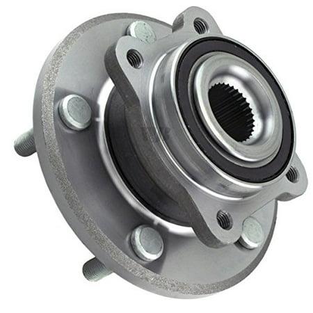 wjb wa513286 - front wheel hub bearing assembly - cross reference: timken  ha590344 / moog 513286 / skf br930700
