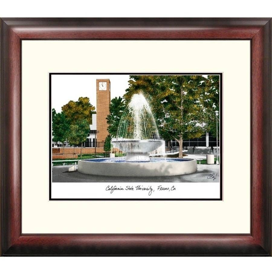 Cal State Fresno Alumnus Framed Lithograph