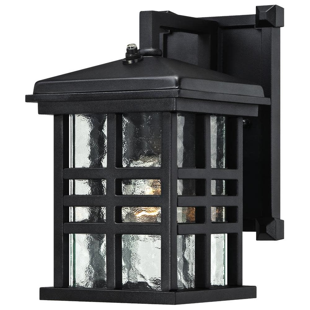 Westinghouse 6204500 Caliste Outdoor Wall Sconce with 1-Light with Clear Water Glass and Photocell