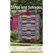 Strips and Selvages Quilt Pattern - eBook