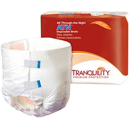 Atn Tab Closure Medium Disposable Heavy Absorbency Adult Incontinent Brief
