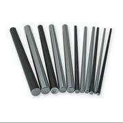 PBC Linear NIL08-024.000 Shaft,RC60 Steel,0.500 In D,24 In