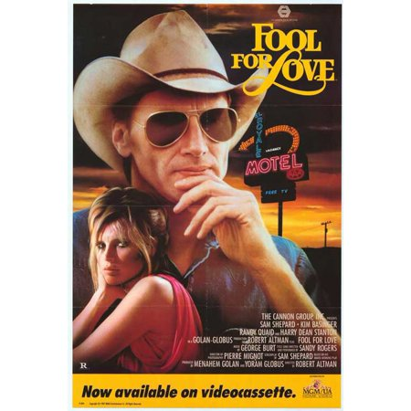 Fool For Love Poster Movie  27X40