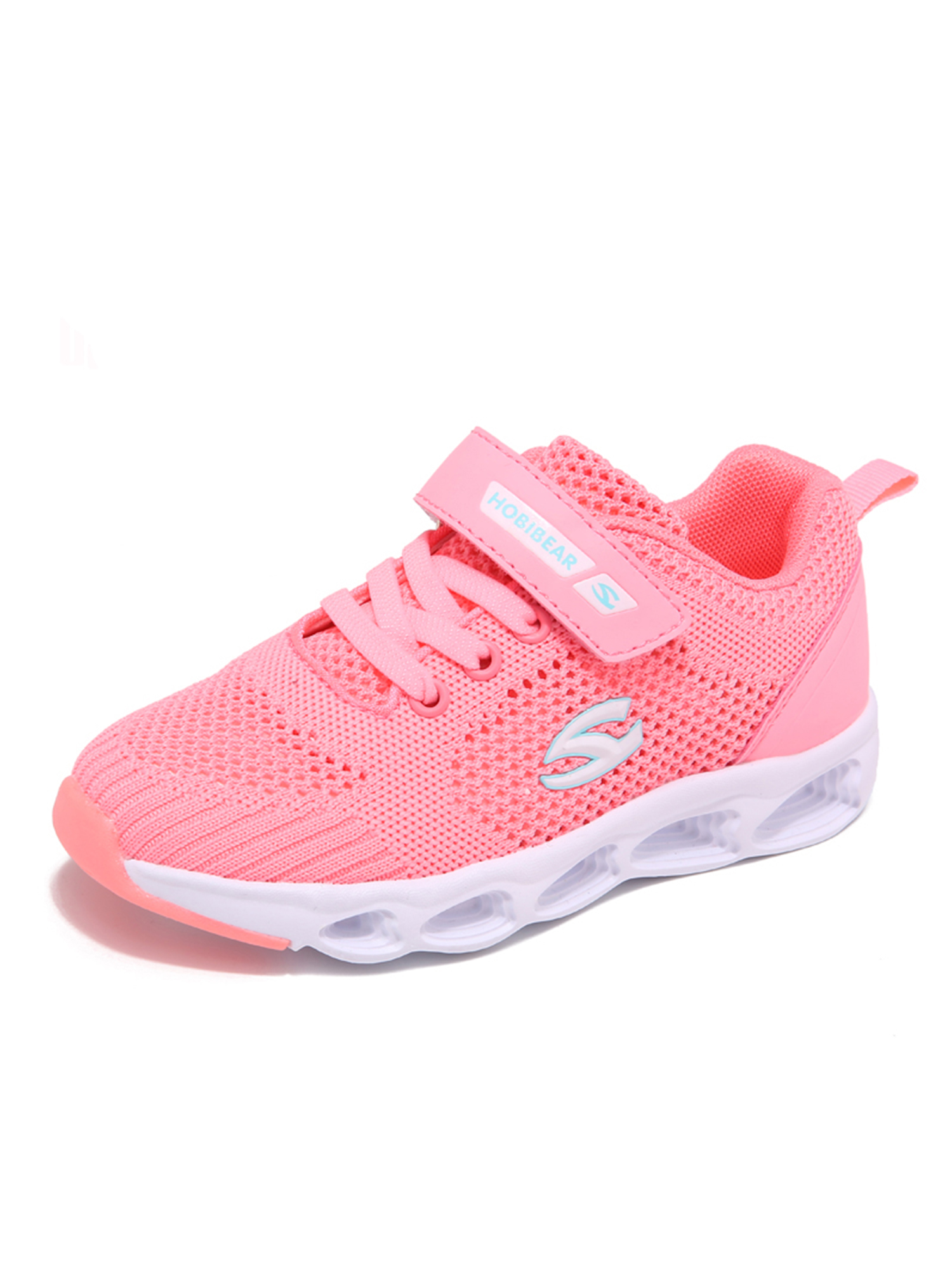 Kids Knit Running Shoes Walking Outdoor Sport Lightweight Casual Mesh Sneakers