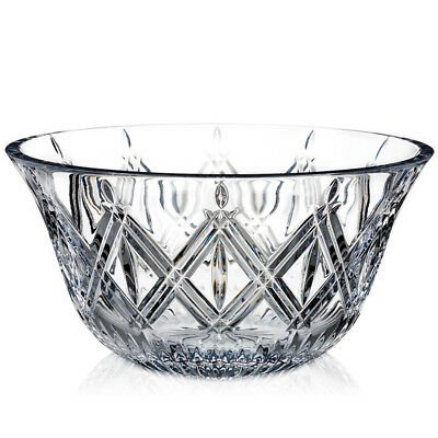 """Marquis by Waterford Crystal Lacey Design Serving Bowl 9"""" Diameter"""