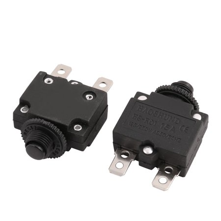 Varistor Circuit Protection - 2Pcs 10mm Mounting Air Compressor Circuit Breaker Overload Protection Switch