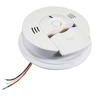 Kidde Hardwired Combination Carbon Monoxide & Smoke Alarm, 120V AC / AA Battery Backup, Model