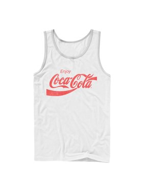 28275142159e9 Product Image Coca Cola Men s Enjoy Logo Tank Top