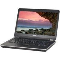 "Refurbished Dell E6440 14"" Laptop, Windows 10 Pro, Intel Core i7-4600M Processor, 8GB RAM, 750GB Hard Drive"