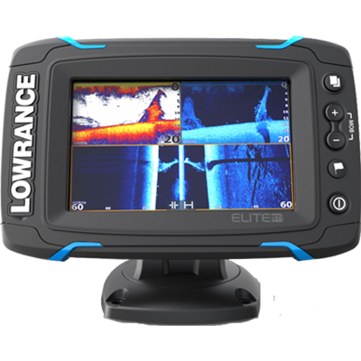 Lowrance 000-12420-001 Elite-5 TI Combo with C-Map Pro Charts. No Transducer