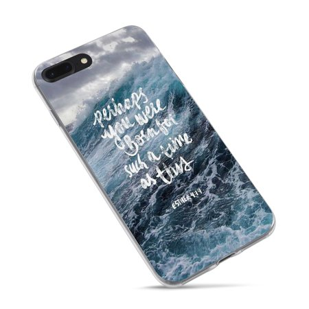 dd87ff9b043 iPhone 6 6s Plus Bible Verses Quote Case- Christian Sea Wave Esther 4 14