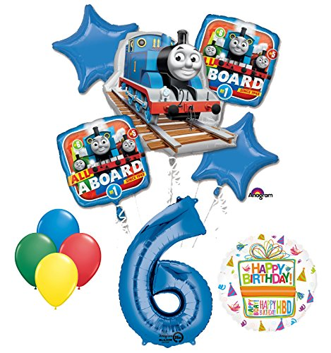 The Ultimate Thomas the Train Engine 6th Birthday Party Supplies