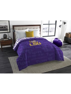 """NCAA Louisiana State Tigers """"Anthem"""" Twin or Full Bedding Comforter, 1 Each"""