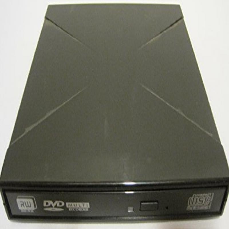 IO Magic Portable External CD/DVD-RW, USB 2.0, IDVD8P