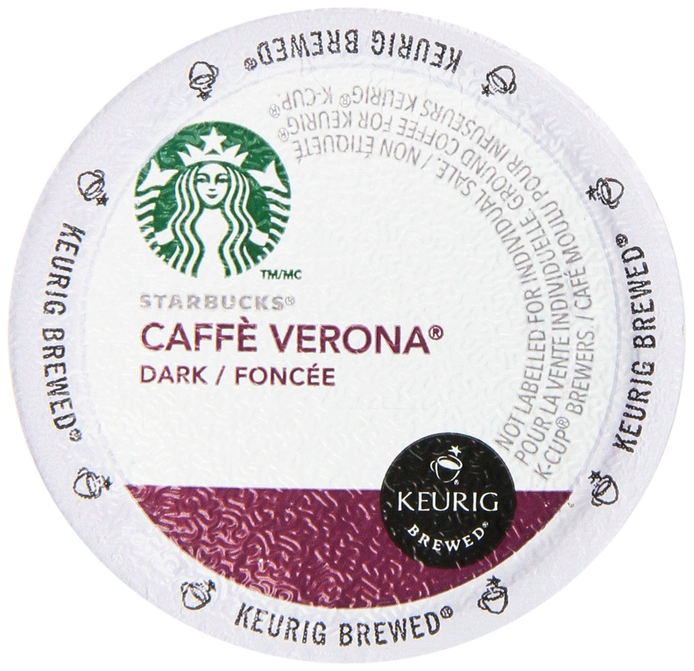 Starbucks K-Cup Portion Coffee for Keurig Brewers - Dark ...