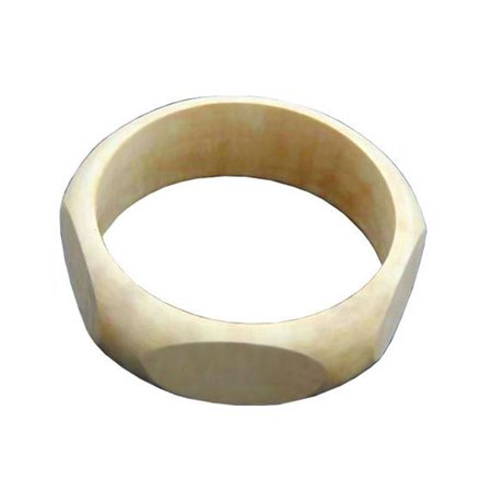 Indus Trading BR-RE-051 Extra Large 1 in. Width Pentagon Exterior Bangle