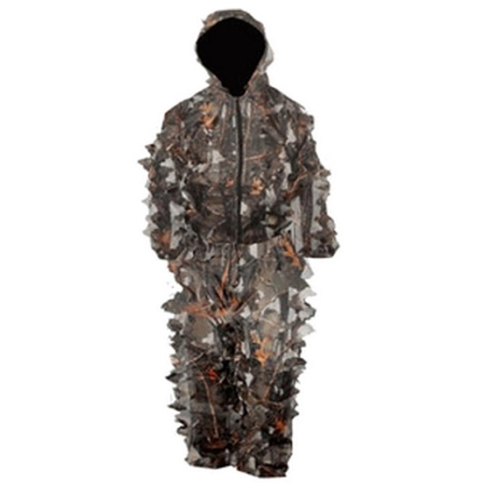 WFS MS400-401 Men's Burly Camo Bushwear Leafy Ghillie Suit by World Famous