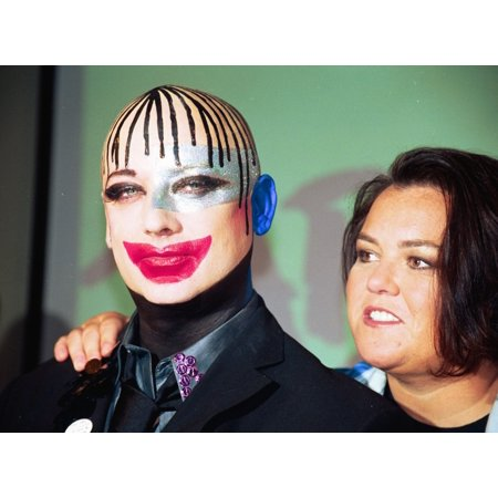 Rosie ODonnell And Boy George At Event To Publicize The Sale Of Tickets For The Show Taboo Ny 932003 By Janet Mayer Celebrity