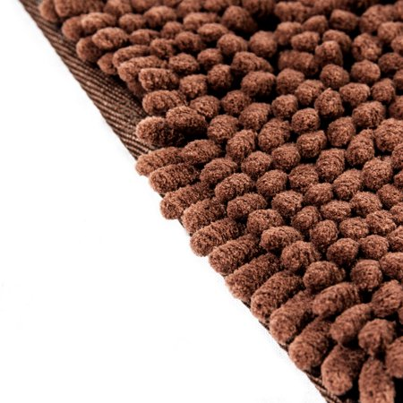 Dog Doormat Super Absorbent Micro Fiber Mat for Dirty Dogs, Cats, Pets - Brown - image 2 of 4