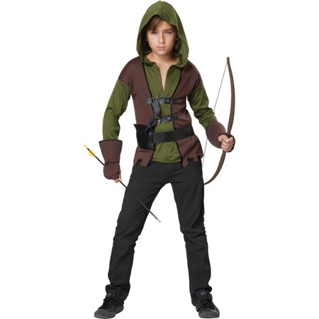 Boy's Medieval Outlaw Child Halloween Costume - Medieval Vests
