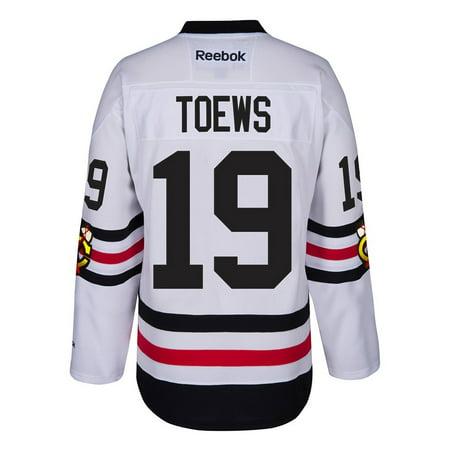 98ee0f2a Reebok - Jonathan Toews Chicago Blackhawks NHL Reebok White 2017 Winter  Classic Premier Jersey For Men - Walmart.com