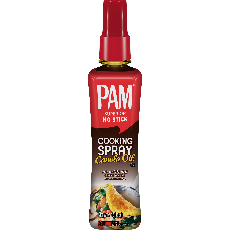 PAM Spray Pump Canola Oil Cooking Spray, 7 oz.