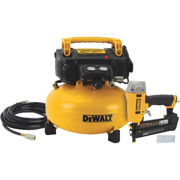 DeWalt Finish Nailer & Compressor Combo Kit