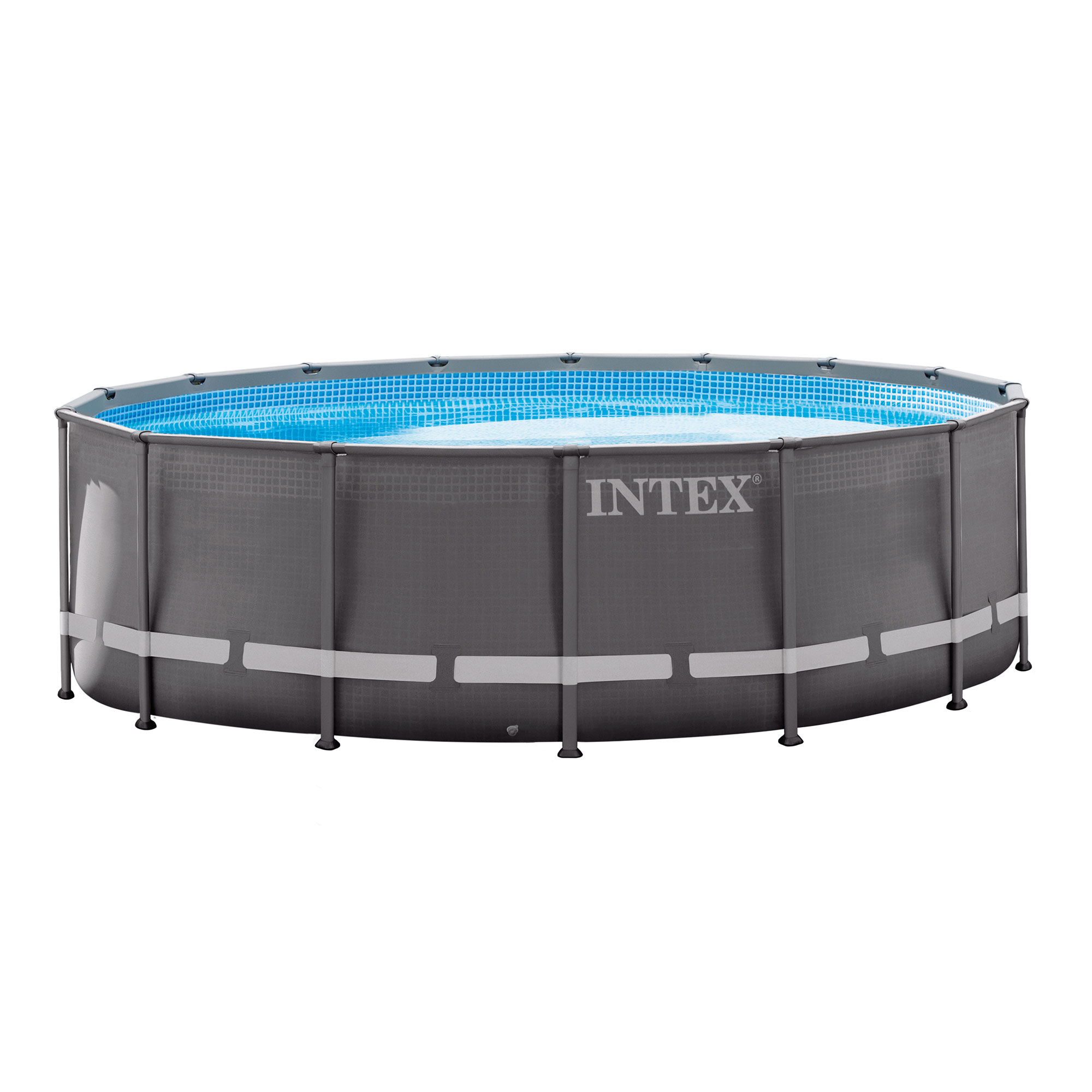 "Intex 16' x 48"" Ultra Frame Above Ground Swimming Pool Set with Ladder & Pump by Intex"