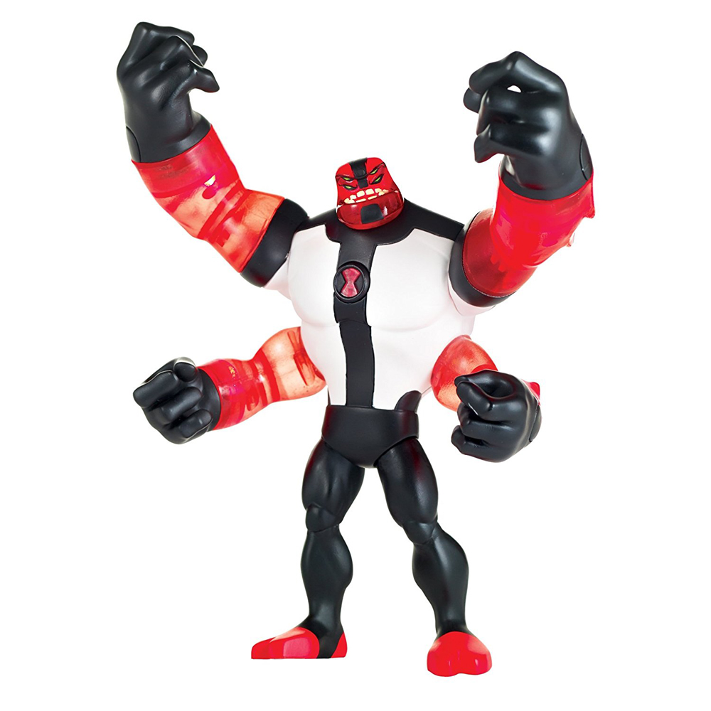 Ben 10 Power Up Four Arms Deluxe Action Figure by Playmates