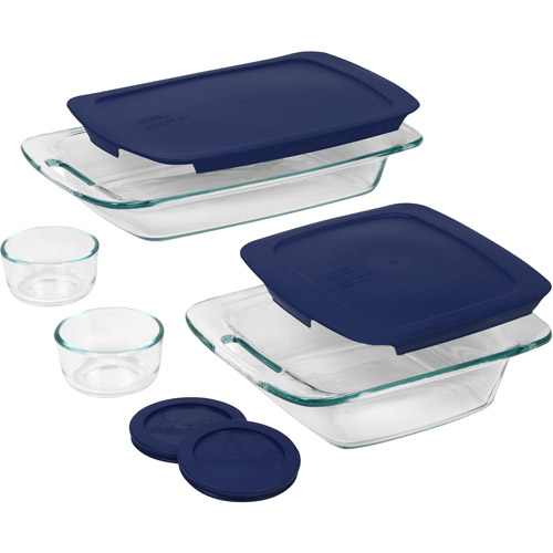 Pyrex 8-Piece Easy Grab Bake and Store Set