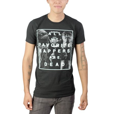 Mtv All Of My Favorite Rappers Are Dead Mens Black T Shirt New Sizes S 2Xl