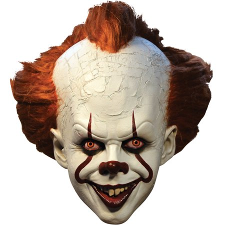 Marzipan Halloween Treats (Trick or Treat Studios Pennywise Mask - It, Halloween Costumes Accessory, For Adults, One)