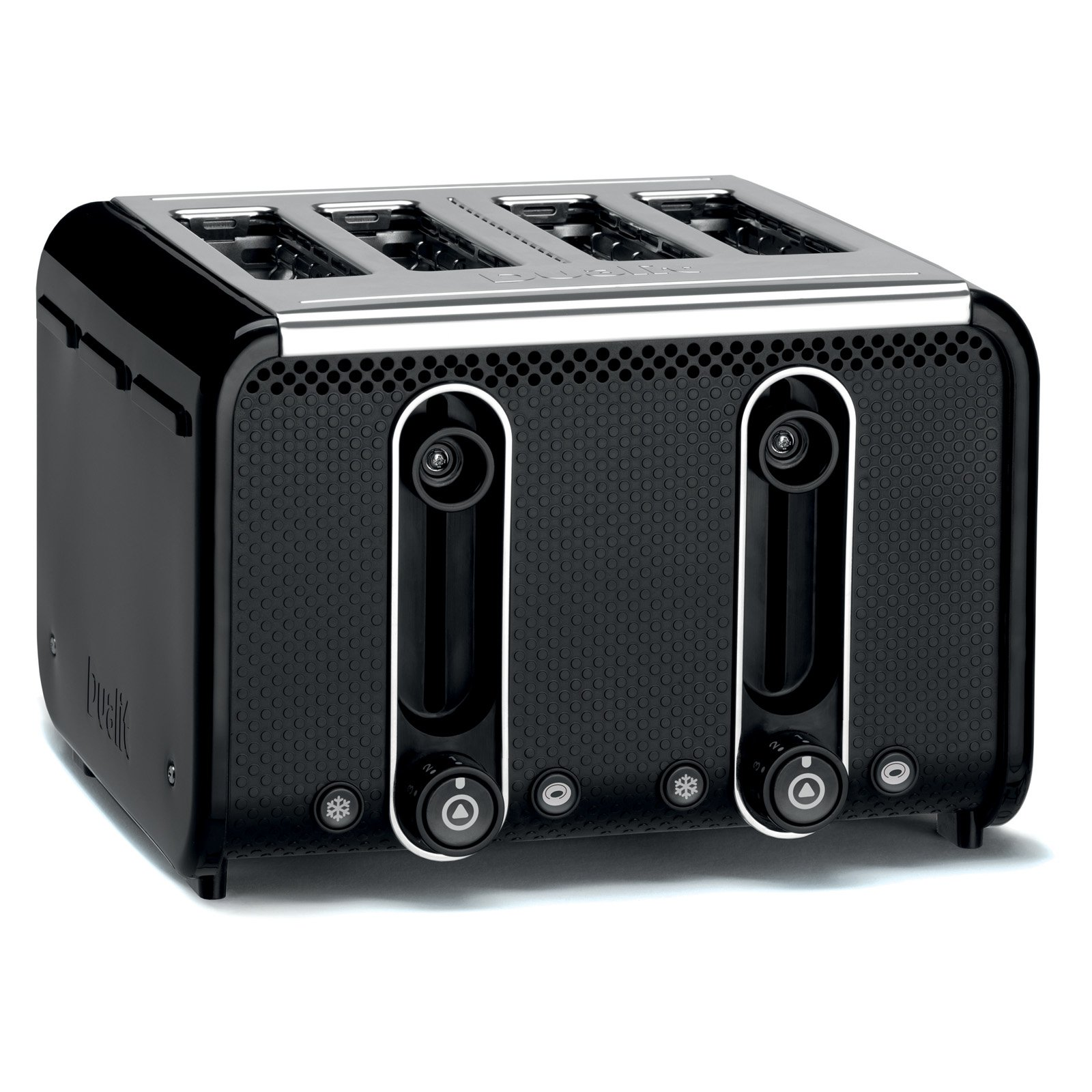 Dualit 46430 4 Slice Toaster - Black/Polished