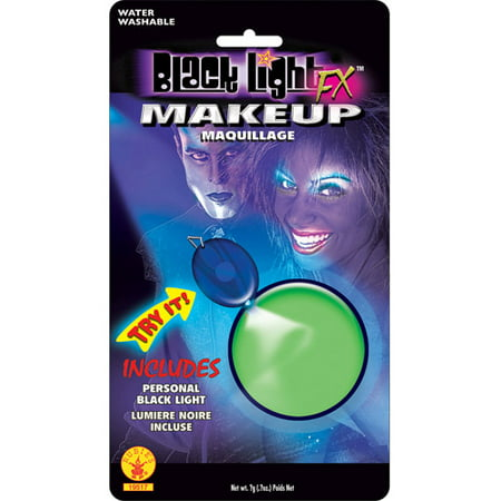 Blacklight Glow Halloween Makeup - Do It Yourself Halloween Face Makeup