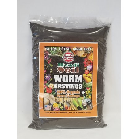 Readi Soil Worm Castings 5 lb bag