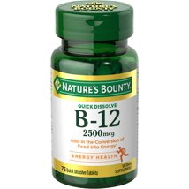 Vitamins & Supplements: Nature's Bounty Vitamin B12